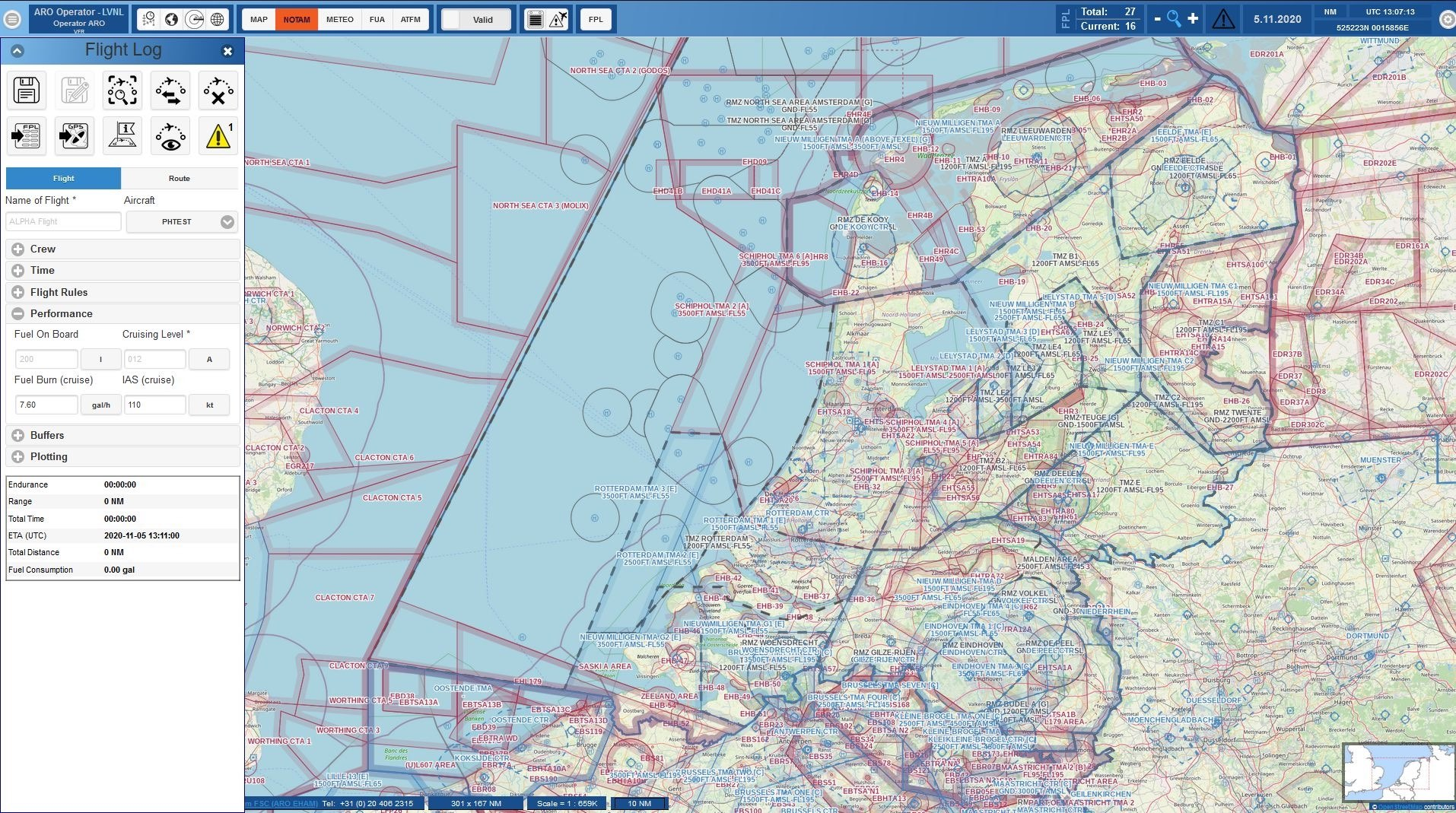 LVNL launched a new HomeBriefing for VFR/IFR pilots